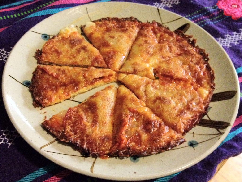 Cheese Crust Pizza