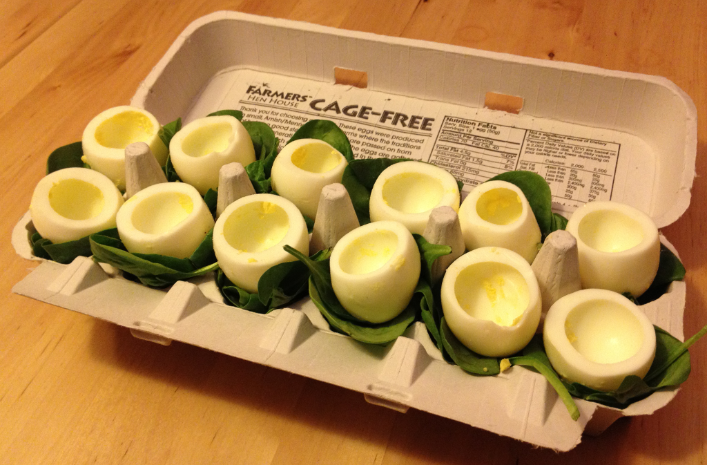 Stuffed Deviled Eggs | T1D and Gluten Free